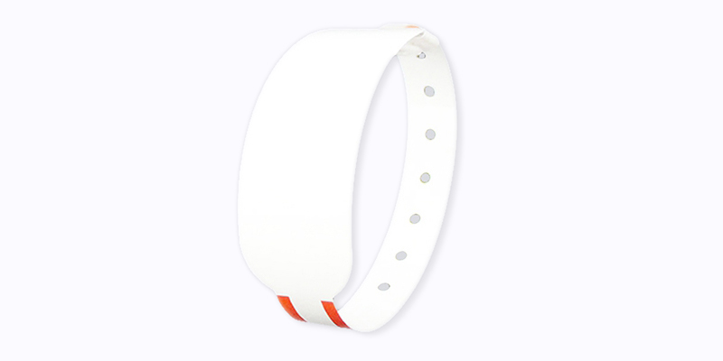 RFID Thermal Printable Wristband With Buckle