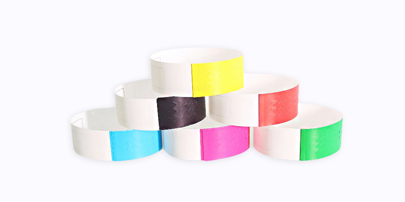 RFID Thermal Printable Wristband - Self Adhesive